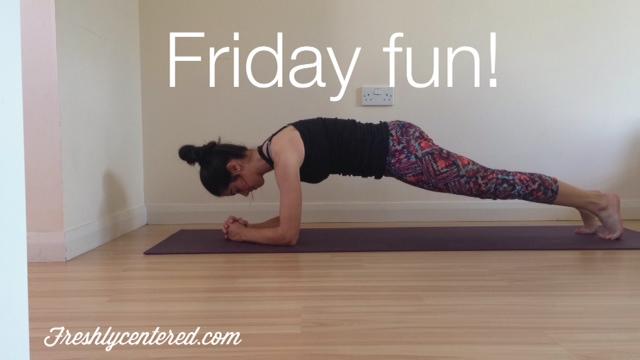 The plank challenge!