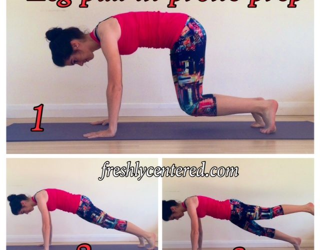 Practise: Leg pull in prone prep
