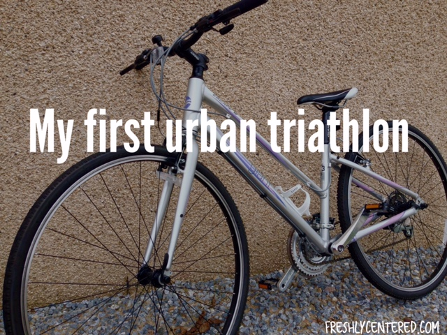My first urban triathlon