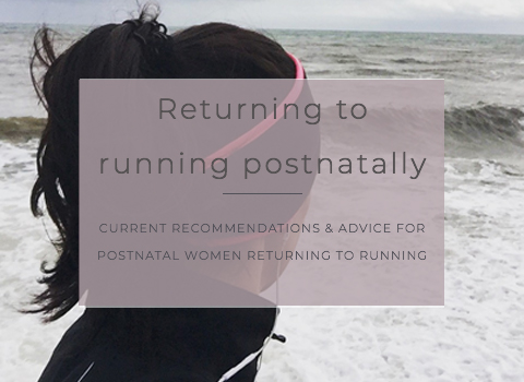Returning to postnatal running