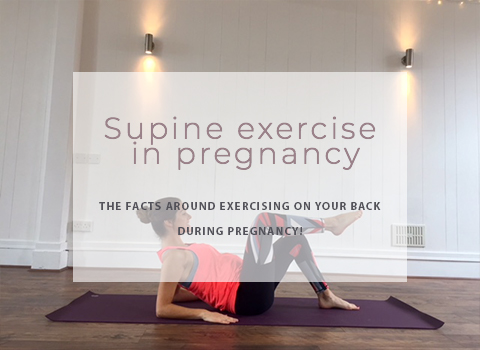 Supine exercise in pregnancy; should we be lying down?