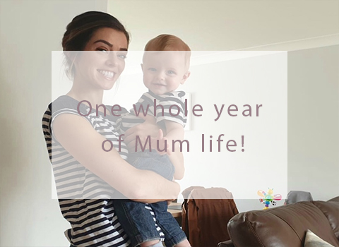 One whole year of Mum life!