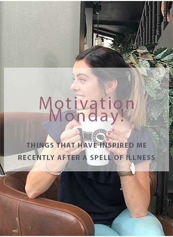 Motivation monday for things that have inspired me in fitness and health