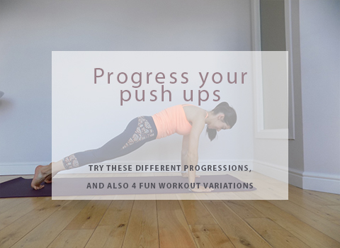 Progress your push ups