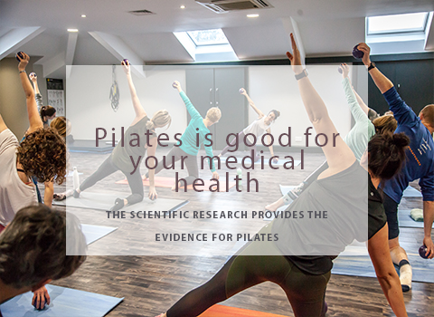 Pilates is good for your health