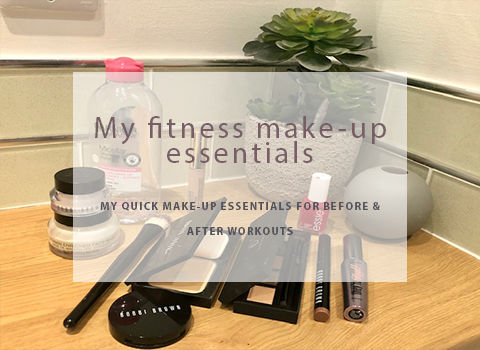 My fitness make-up essentials