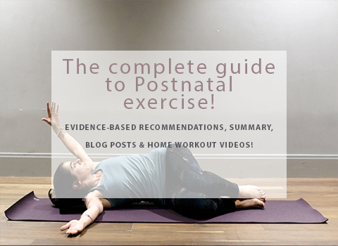 The complete guide to postnatal exercise