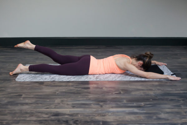 Prone hip extension for glutei strengthening