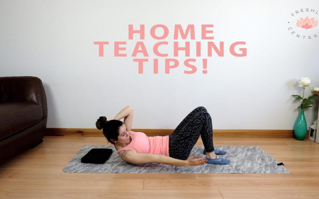 online teaching tips