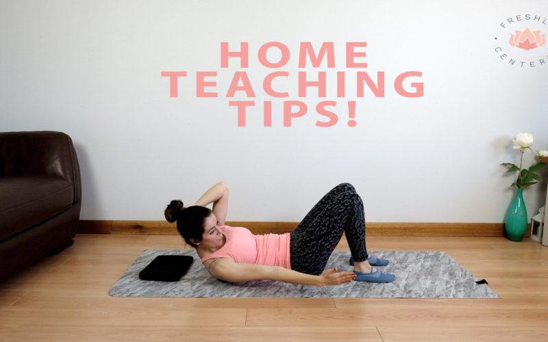 Home teaching tips!