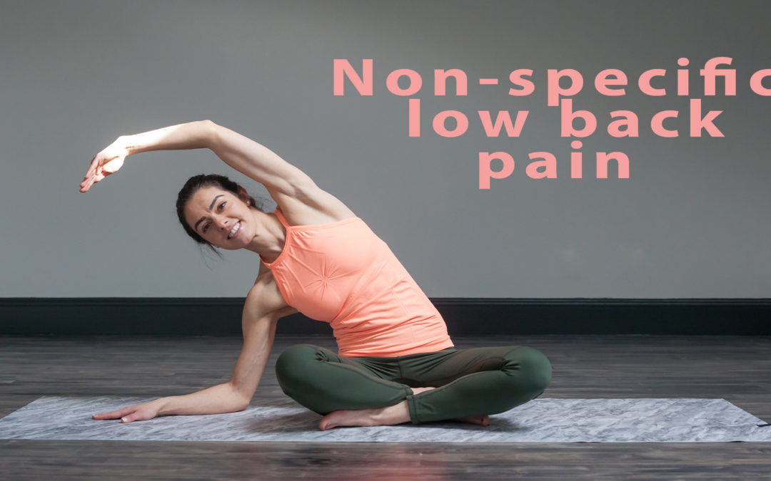 Non-specific low back pain