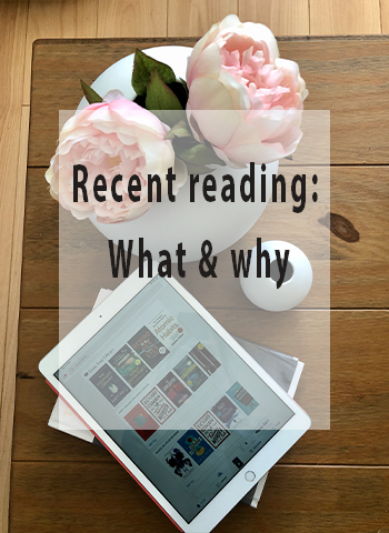 Recent reading: what & why