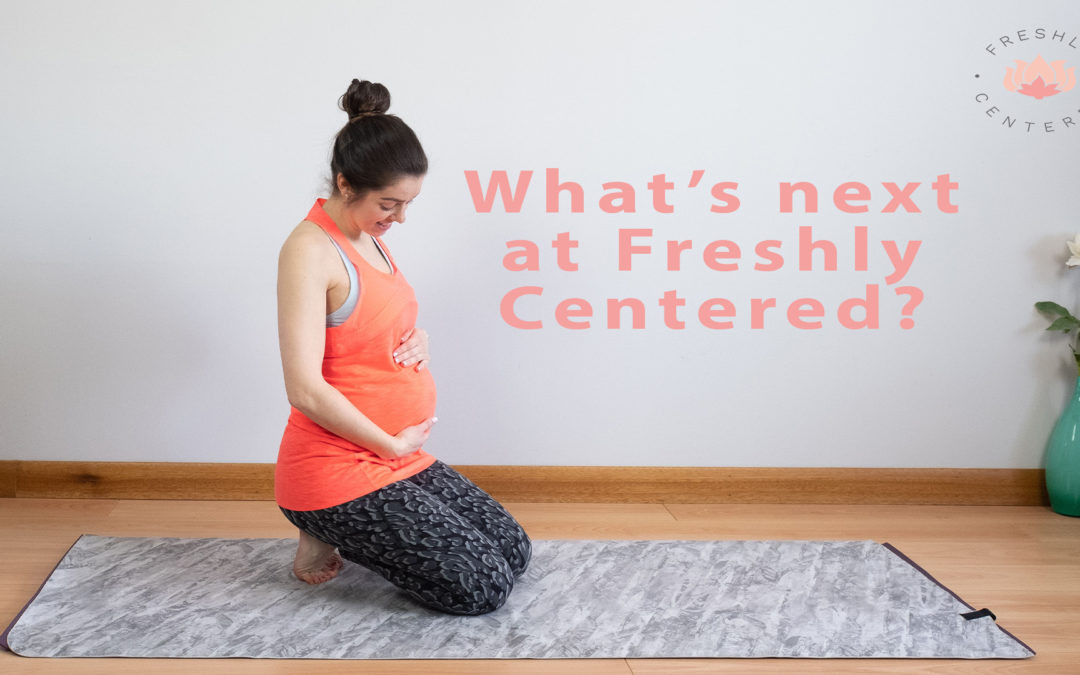 What's next at Freshly Centered cover